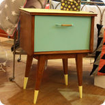 Table de chevet fifties