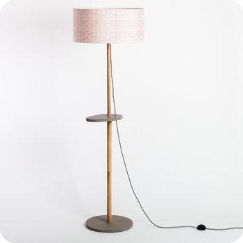Lampadaire design et lampe sur pied en bois lampe table - Lampe sur pied vintage ...