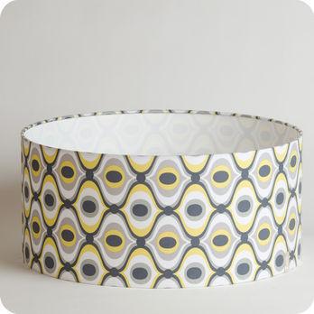 luminaires abat jour suspension abat jour suspension cylindrique tissu groovy. Black Bedroom Furniture Sets. Home Design Ideas