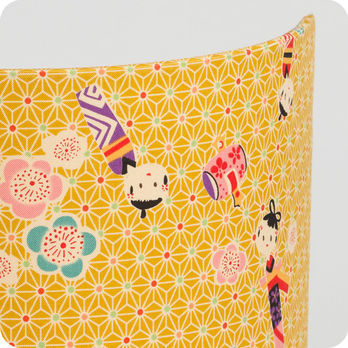 applique murale enfant en tissu motif japonais kokeshi. Black Bedroom Furniture Sets. Home Design Ideas