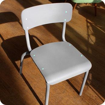 Meubles vintage meubles vintage enfant bureau d - Chaise d ecolier vintage ...