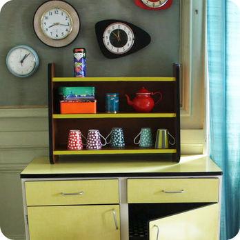 Meubles vintage consoles petits meubles petite tag re 50 39 - Etagere petite profondeur ...
