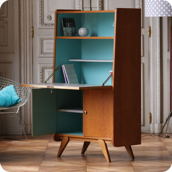 meubles vintage bureaux tables secr taire ann es 50 fabuleuse factory. Black Bedroom Furniture Sets. Home Design Ideas