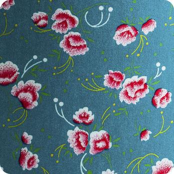 Abat jour ou suspension pour chambre enfant en tissu petit pan petite pivoine - Tissu pour abat jour ...