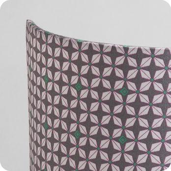 applique murale int rieure en tissu petit pan h lium gris. Black Bedroom Furniture Sets. Home Design Ideas