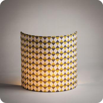 applique murale design en tissu motif g om trique pythagore. Black Bedroom Furniture Sets. Home Design Ideas