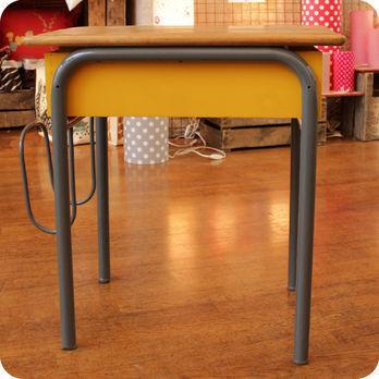 meubles vintage bureaux tables ancien bureau d 39 colier avec porte cartable fabuleuse factory. Black Bedroom Furniture Sets. Home Design Ideas
