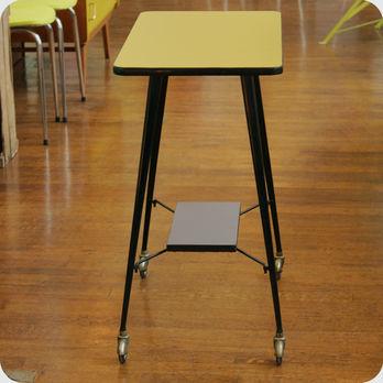 Meubles vintage consoles petits meubles table - Table roulante design ...