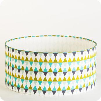 luminaires abat jour suspension abat jour suspension cylindrique tissu cosinus. Black Bedroom Furniture Sets. Home Design Ideas