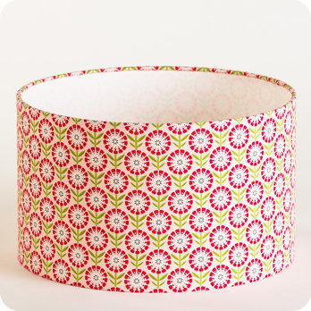 luminaires abat jour suspension abat jour suspension cylindrique tissu candy fabuleuse. Black Bedroom Furniture Sets. Home Design Ideas