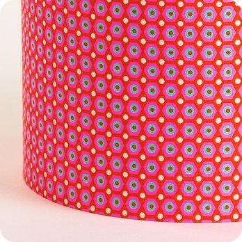 abat jour ou suspension pour chambre enfant en tissu petit pan mikko rouge. Black Bedroom Furniture Sets. Home Design Ideas