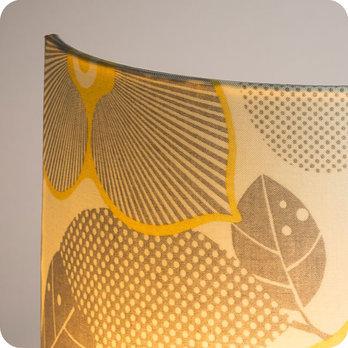 Applique murale design en tissu motif vintage bloom - Applique murale entree ...