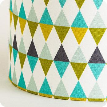 applique murale design en tissu motif g om trique cosinus. Black Bedroom Furniture Sets. Home Design Ideas
