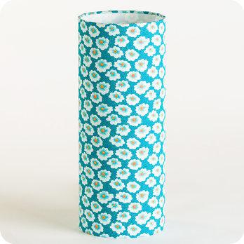 lampe tube poser en tissu petit pan motif osami. Black Bedroom Furniture Sets. Home Design Ideas