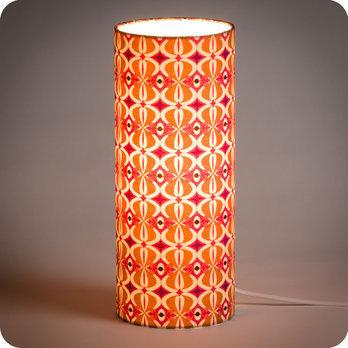 nos derni res cr ations lampe tube poser tissu mlle baker fabuleuse factory. Black Bedroom Furniture Sets. Home Design Ideas