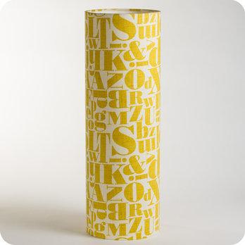 Tissu Tube À Poser Vintage Stencil En Lampe Motif E9WH2IYDe