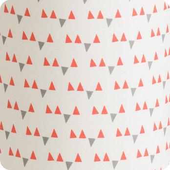 lampe de chevet enfant en tissu motif scandinave rose. Black Bedroom Furniture Sets. Home Design Ideas
