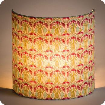 Applique murale design en tissu liberty motif art d co for Decoration murale tissu