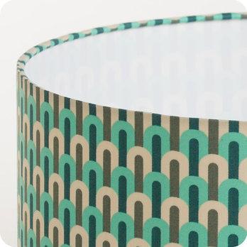 abat jour design pour lampe lampadaire ou suspension en tissu motif vintage chrysler. Black Bedroom Furniture Sets. Home Design Ideas
