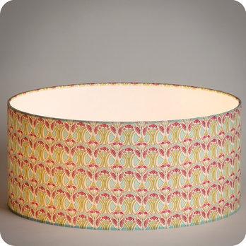 Abat jour design pour lampe lampadaire ou suspension en tissu liberty motif art d co riviera - Tissu pour abat jour ...
