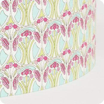 abat jour design pour lampe lampadaire ou suspension en tissu liberty motif art d co riviera. Black Bedroom Furniture Sets. Home Design Ideas