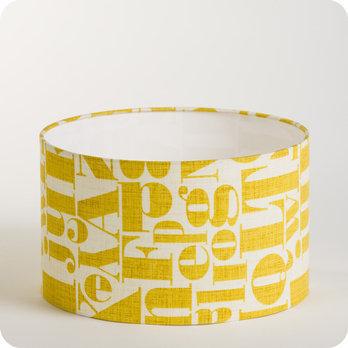 simple abatjour suspension cylindrique tissu stencil with abat jour enfant. Black Bedroom Furniture Sets. Home Design Ideas