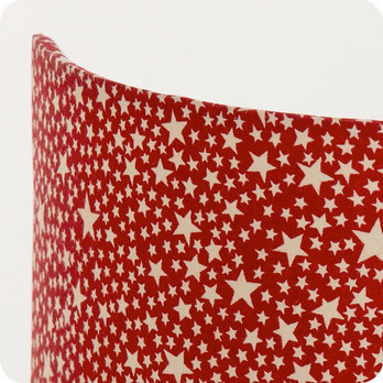 applique murale enfant en tissu motif toile rouge red stars. Black Bedroom Furniture Sets. Home Design Ideas