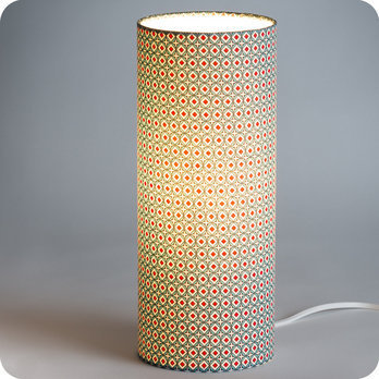 À Petit Kintaro Pan Poser Tissu Lampe Tube En Motif 3ARLc4jS5q