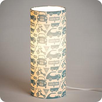 luminaires lampe poser tube lampe tube poser tissu playtime fabuleuse factory. Black Bedroom Furniture Sets. Home Design Ideas