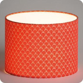 abat jour imprim en tissu pour lampe lampadaire ou. Black Bedroom Furniture Sets. Home Design Ideas