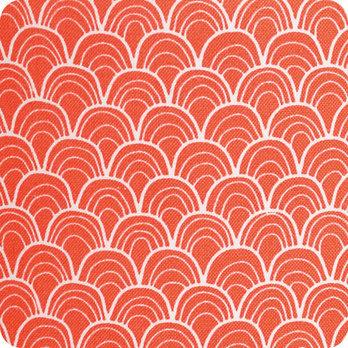 Abat jour imprim en tissu pour lampe lampadaire ou suspension motif japonais koraru - Tissu pour abat jour ...