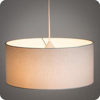 Abat jour design pour lampe, lampadaire ou suspension en tissu ...