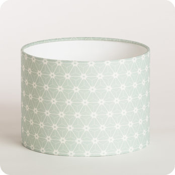 abat jour vert d eau dalmateysspot. Black Bedroom Furniture Sets. Home Design Ideas
