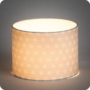 abat jour imprim en tissu pour lampe lampadaire ou suspension motif japonais vert ozora verdo. Black Bedroom Furniture Sets. Home Design Ideas