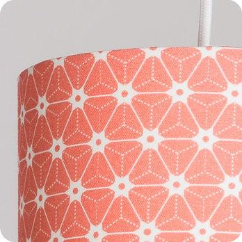abat jour imprim en tissu pour lampe lampadaire ou suspension motif japonais rose ozora pink. Black Bedroom Furniture Sets. Home Design Ideas