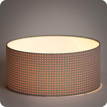 abat jour design pour lampe lampadaire ou suspension en tissu petit pan mikko blanc. Black Bedroom Furniture Sets. Home Design Ideas