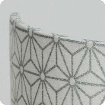 applique murale design en tissu motif japonais hoshi argent. Black Bedroom Furniture Sets. Home Design Ideas