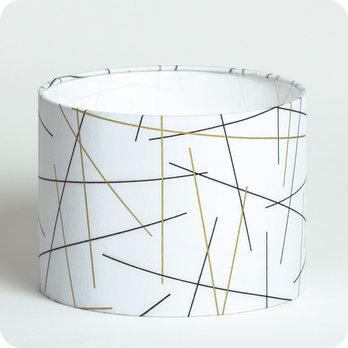 Abat-jour imprimé en tissu pour lampe, lampadaire ou suspension ...