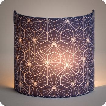 applique murale design en tissu motif g om trique p pite. Black Bedroom Furniture Sets. Home Design Ideas