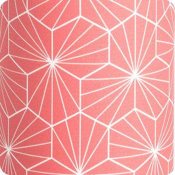 luminaires lampe poser tube lampe tube poser tissu p pite corail fabuleuse factory. Black Bedroom Furniture Sets. Home Design Ideas
