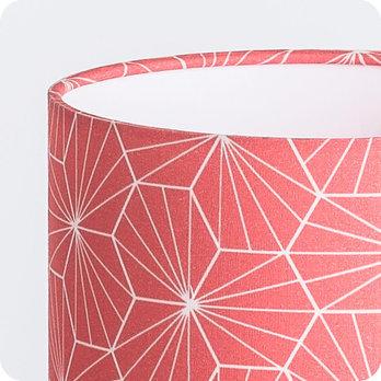 Lampe Tissu Poser Motif En Géométrique Design Pépite À Corail 0k8PnXNwOZ