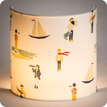 applique murale enfant en tissu motif marins bateaux luxembourg. Black Bedroom Furniture Sets. Home Design Ideas