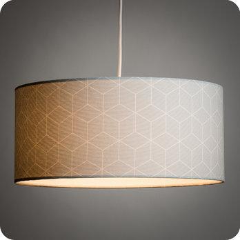 Pour Motif Tissu Design En LampeLampadaire Ou Suspension Jour Abat WQBoedrxC