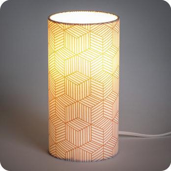 Poser Design Géométrique Rose Cinetic Lampe Corail À Motif 8n0kwPO