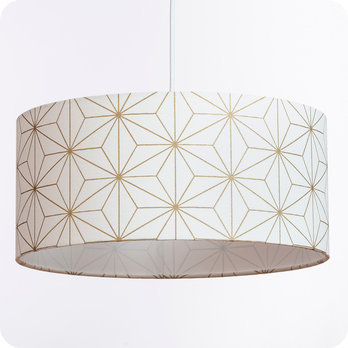 Ou En LampeLampadaire Design Suspension Jour Abat Tissu Pour Motif ZuiOwTPkX