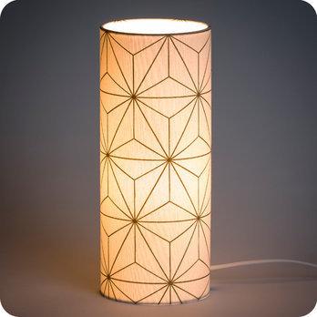 Motif Or Tissu Maxi Design À Poser Hoshi Étoile Japonais Lampe En SUVpGzMq