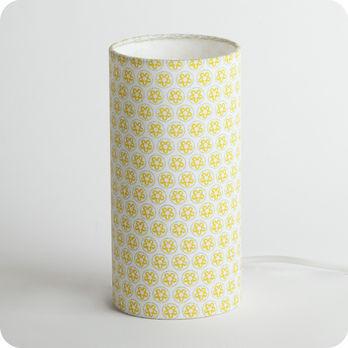 Tube Grain Tissu Soleil En À Vintage Lampe Motif De Poser n8wmOyvN0