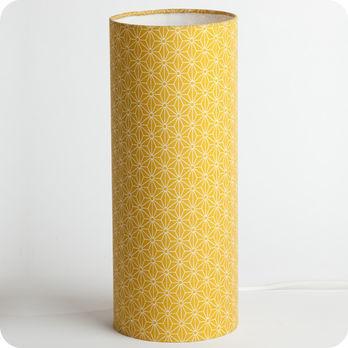 lampe a poser design jaune
