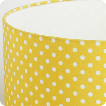 Abat jour jaune moutarde
