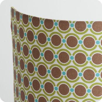applique murale design en tissu motif vintage summer 70. Black Bedroom Furniture Sets. Home Design Ideas